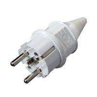 power plug German style/16A 250V IP44 Waterproof TUV /2 Pin Europe schuko Electric plug