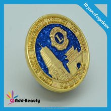 Wholesale high quality brass photo etched soft enamel pin made in China metal pin