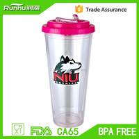 custom personalized tumbler, summer ice tumbler with silicone cover RH101-24