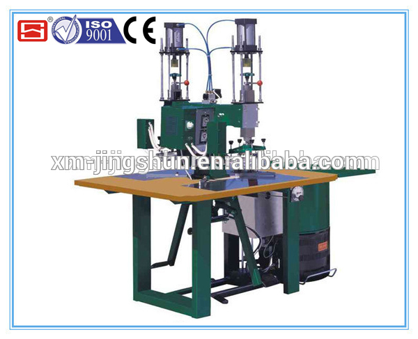High Frequency PVC vibration welding machine for medical part & shoes etc.