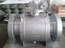 Forged trunnion ball valve class600