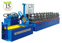 High speed no cutting light steel keel making machine--c&u stud&track omega,T grid rack&upright