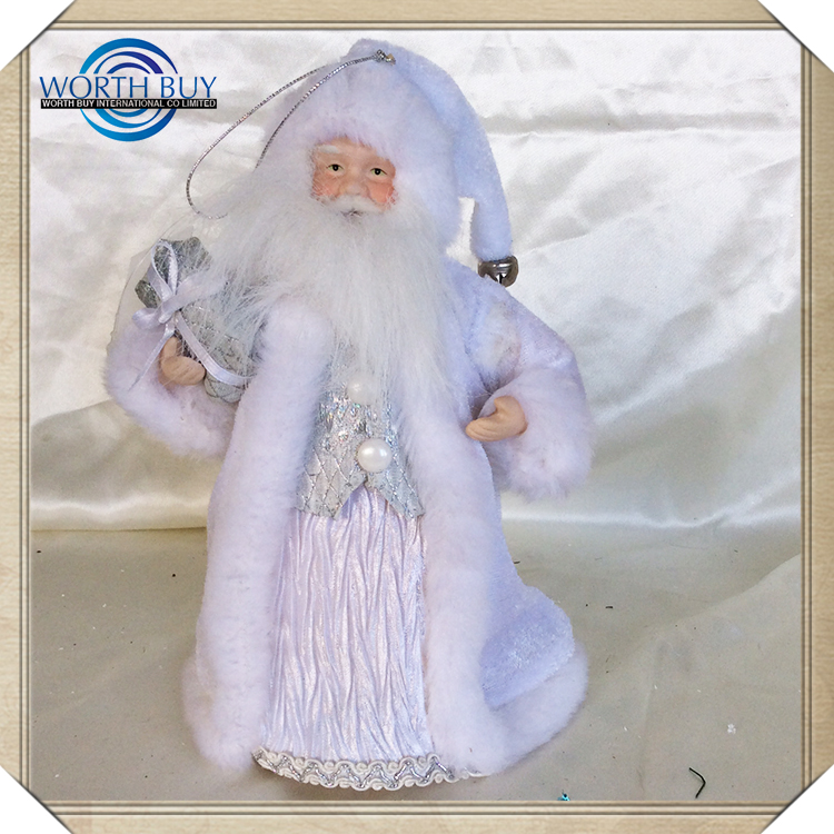 China Supplier High Quality Santa Claus Wholesale Christmas Wreath Decorations