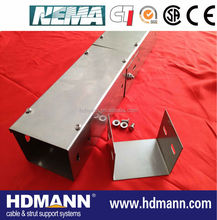 Powder coated Stainless steel cable trunking OEM supplier