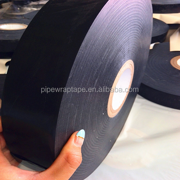 980-20 pe butyl rubber gas pipe anticorrosion tape