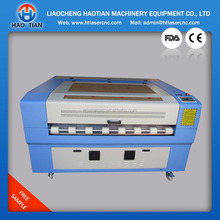 home two laser head auto feeding leather/textile/fabric laser cutting machine