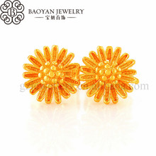 turkish simple gold earring designs for women
