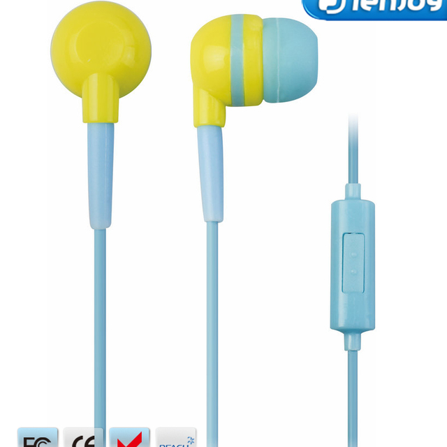 ienjoy high quality cheap stylish headphones heavy bass in ear earphone