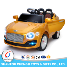 2016 Most popular newest 2 .4G electric rc ride on car kids car price