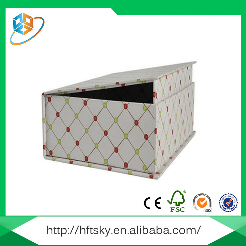 Sample available easy to disassemble cardboard kraft paper gift packaging box with certification ISO9001