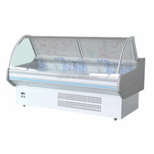 Fresh Meat display refrigerator/0~10 degree supermarket fridge/fish display counter for sale