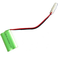 High quality and great price AA1200mah 2.4V nimh rechargeable battery pack