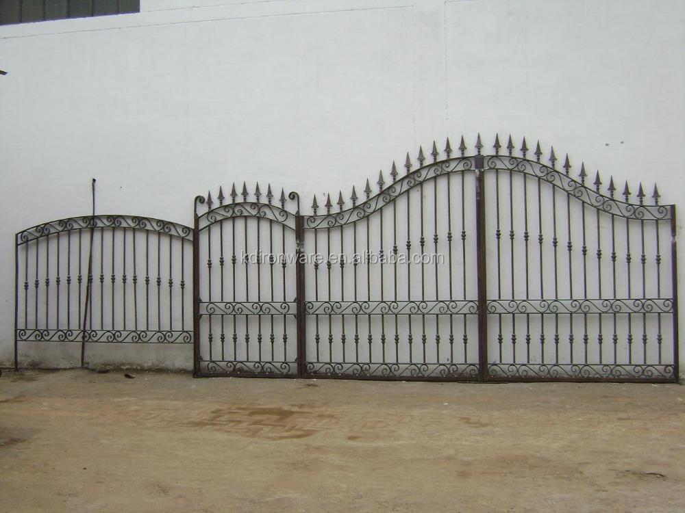 Beautiful ornamental wrought iron modern gates and fences