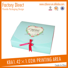 hot stamping Direct sale scarf paper box