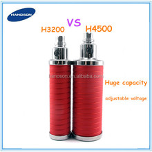 2014 newly cigarrillo electronico ego battery . ego twist. H4500mah VS H3200mah vv battery from CHina original factory