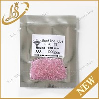 Pink CZ Stone,Synthetic Loose Pink CZ Stone