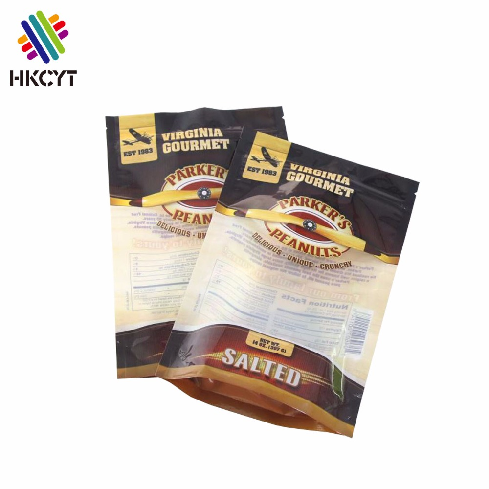China factory food grade Moisture proof Custom printed mylar bags for pizza sandwich