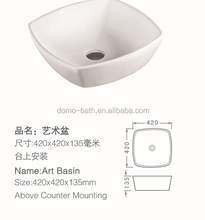 Domo Modern Style New Design Chinese Porcelain Pedicure Sink With Jets Art Basin For Good Sale LK-148