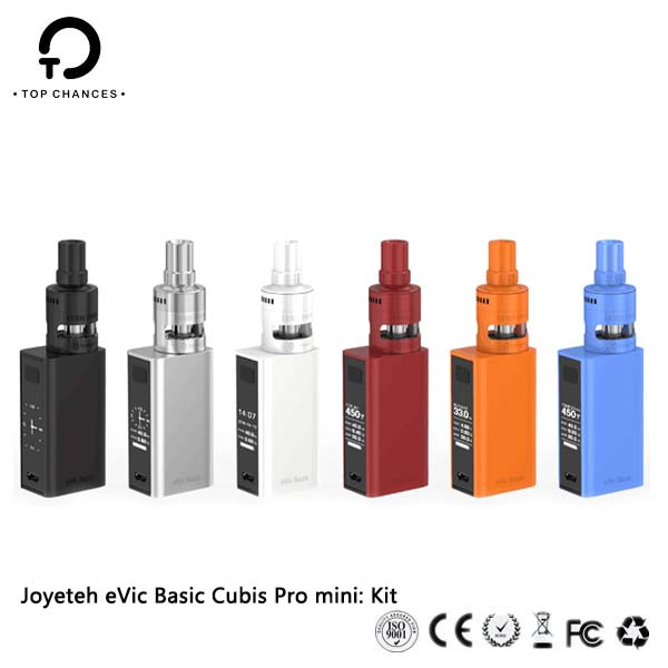 Top Chances wholesale Original Joyetech eVic Basic with Cubis Pro mini Kit with Best Deal and Fastest Shipping