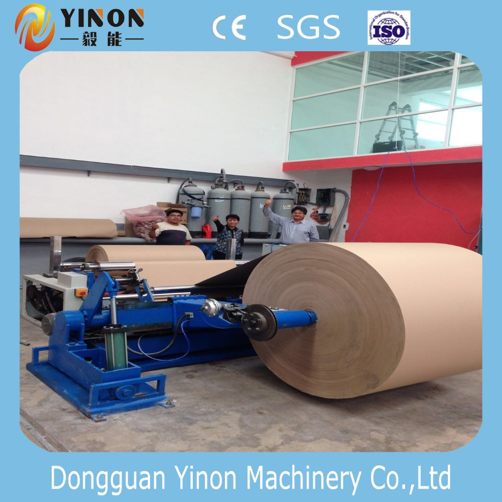 Plastic Film/Kraft Paper Use Bopp Slitting Rewinding Machine