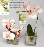 Artificial flowers, artificial orchid Table Set ( Phalaenopsis or Phalaen Orchid)