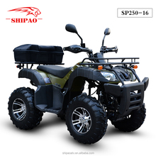 SP250-16 atv 250 with reverse gear and disc brake