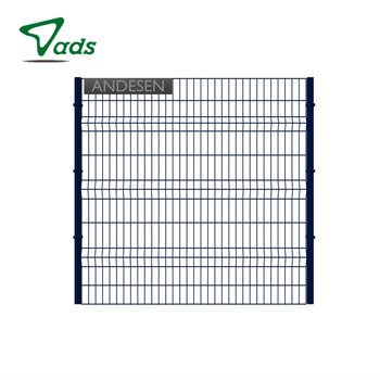 Rust proof welded wire mesh fence panels for garden