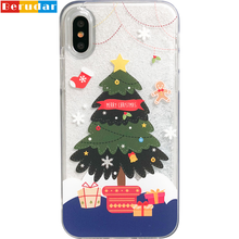 Hot sale phone case liquid crystal case for iphone x,for iphone 8,for iphone 7 clear case