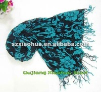 fashion new style print 100% polyester scarf necklaces XV-66