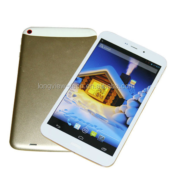 IPS screen 8 inch tablet pc 3g gsm quad core metal casing MTK6582 GPS wifi FM bluetooth EXTRA SLIM