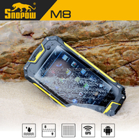 Snopow M8 IP68 waterproof 4.5 inches quad core with NFC walkie talkie android 4.4 smartphone
