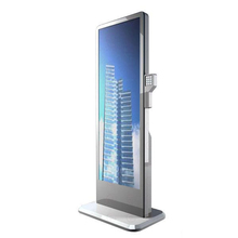 3G 4G WIFI floor standing digital signage totem P3 P4 P5 led advertising internet screen