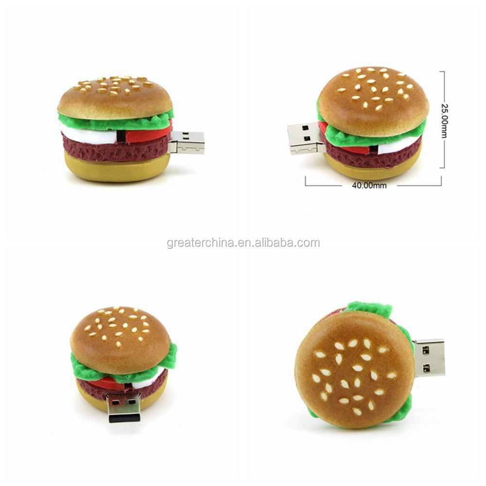 Food Series USB Flash Drive Pendrive Funny Drumsticks Sushi Doughnut Memory Stick 4GB 8GB 16GB 32GB 64GB Pendrive Hot Sale