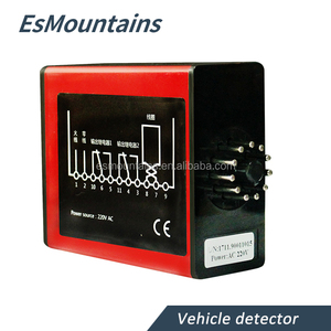 Parking lot ultrasonic vehicle inductive detector