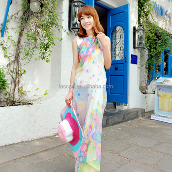 2015 fashion design woman lovely thai sarong scarfs(PP655BL-C)