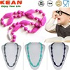 2015 China manufacturer Kean custom made Silicone teething necklace