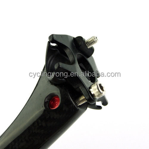 3K Cycling Bicycle MTB Road Bike Carbon Fiber Seat Posts Seatpost 27.2 31.6 x350mm carbon fiber seat post bicycle part