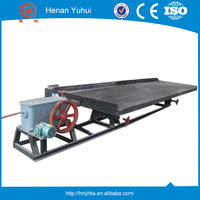 Henan Yuhui laboratory shaking table for mineral separator