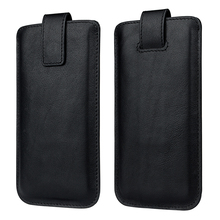 Phone accessories genuine leather pouch fully cover phone case for iPhone 4.7 inch