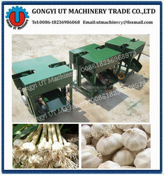 Garlic head cutting machine /Automatic fresh garlic & onion root cutting machine