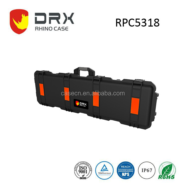 Manufacturer Plastic Waterproof Cover Rifle Hard Gun Cases