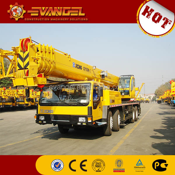 XCMG 50TON QY50KA used truck crane truck for sale