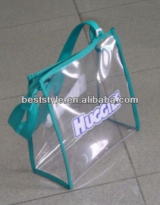 High quality custom cotton coated pvc shopping bag