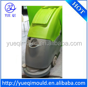 plastic floor scrubber shell,rotomoulding,OEM service