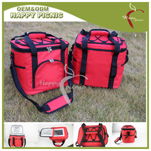 600D polyester with Insulated Aluminum foil linning outdoor picnic cooler bag