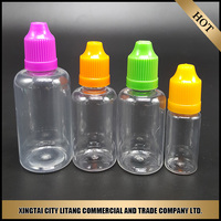 wholesale plastic pet e liquid bottle 30 ml for e cigarette from China oem manufacturer