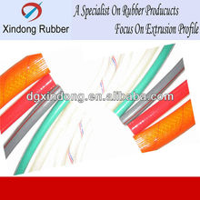 Dongguan well fire-retard silicone colored vacuum hose