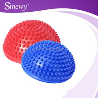 Fitness Soft Spike Balance Pod PVC Half Massage Ball for tv set