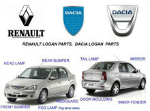 Renault logan auto body parts, renault logan auto spare parts