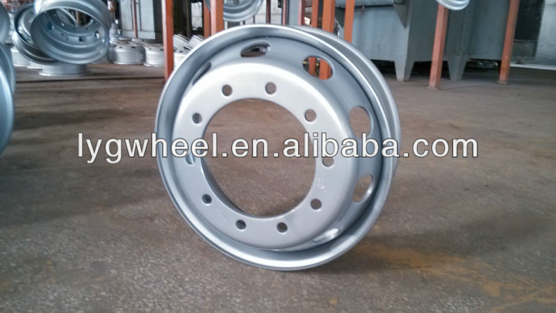 truck wheel 8.25x22.5, industrial wheels for 11R22.5 tire